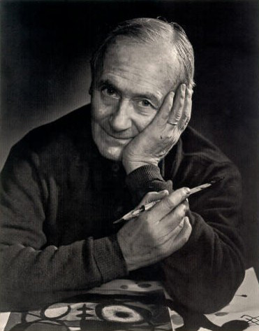 Photograph of Joan Miro