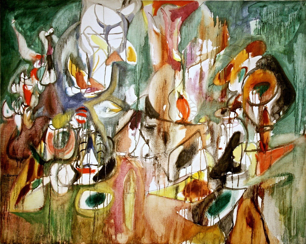 the life and works of arshile gorky a painter Most recently seen as a silent, enigmatic figure in the armenian-canadian  filmmaker atom egoyan's ararat, modernist painter gorky (1900.