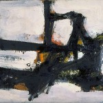 franz-kline-orange_outline