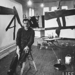 Franz Kline in his studio - Cover of Time Magazine