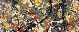 Was Jackson Pollock a Physicist?