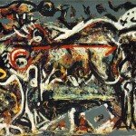 Jackson Pollock - The She-Wolf