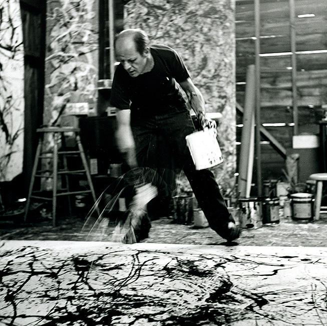 the life and influence of the artist jackson pollock Jackson pollock's reputation  some of the folklore that has grown up around this ground-breaking artist's life and  most prolific under the influence of.