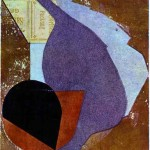 Jean Arp - Collage on Paper