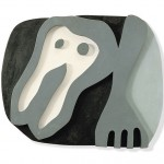 Jean Arp - Plastron et fourchette-Shirtfront-and-Fork