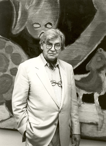 photograph of Karel Appel