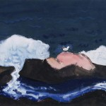 Milton Avery - Bird and Breaking Wave