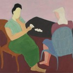 Milton Avery - Card Game