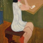 Milton Avery - Girl Writing