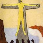 Milton Avery - Le Christ Jaune