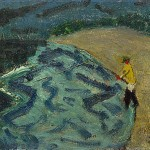 Milton Avery - Man Fishing
