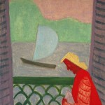Milton Avery - March on the Balcony
