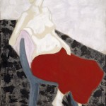 Milton Avery - Nude with Red Drape