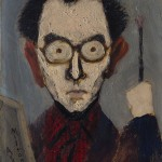 Milton Avery - Portrait of Raphael Soyer