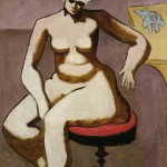Milton Avery - Seated Nude