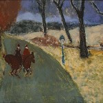 Milton Avery - Winter Riders