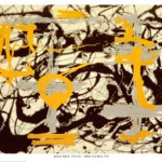 Yellow, Grey, Black - Jackson Pollock